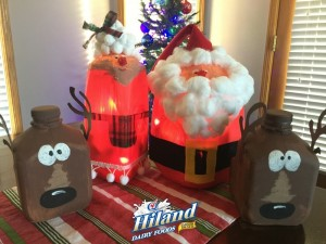 Santa and Reindeer Finished Product