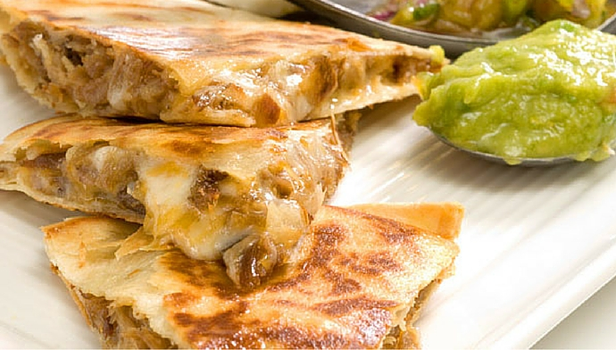 Spice Up Cinco de Mayo With A Chicken And Cheese Quesadilla