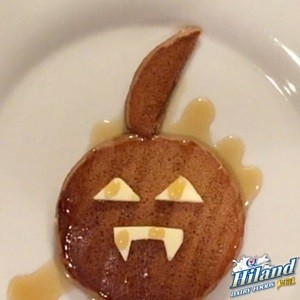 Spooktacular Chocolate Peanut Butter Pancake Recipe