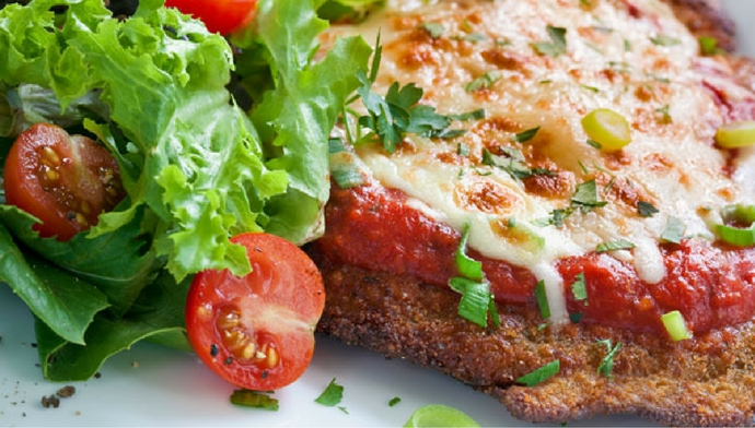 The Italian Side of Protein - Chicken Parmesan