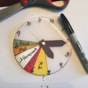 Time Management Clock Step 6