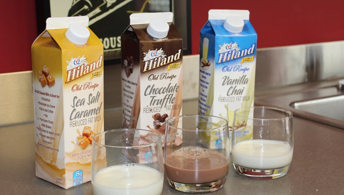 Treat Your Family to Hiland Summer Flavored Milks
