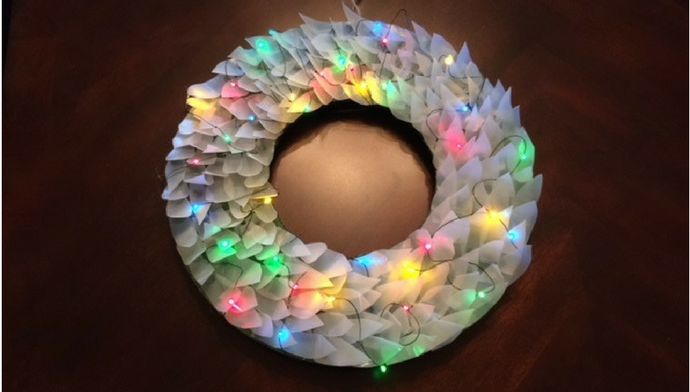 Unique Winter Wreath