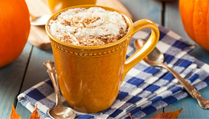 Get Ready For Fall With A Pumpkin Spice Latte